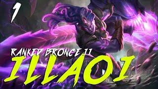 ILLAOI Top - Ranked Bronce II - Porno furry(Gnar) con tentaculos