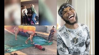 Epic Fails October 2018 Compilation Reaction!! (I had an epic fail mid video!!) (Super funny!)