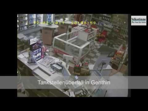 Tankstellenüberfall in Genthin