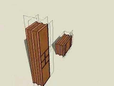 Schrank gezeichnet  Badmöbel mit Sketchup gezeichnet - YouTube