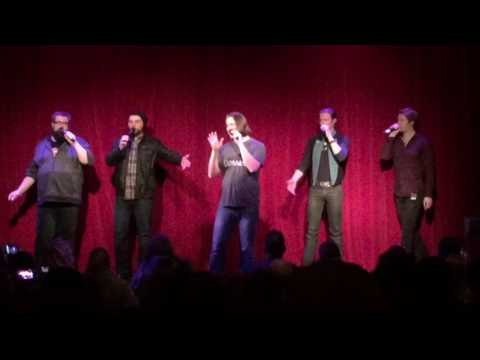 Home Free Dublin 24-1-17 Ring of Fire (Short Clip)