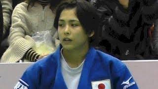 出口クリスタ vs シルバ(BRA)女子57kg級 3位決定戦 柔道グランドスラム東京2013.11.29