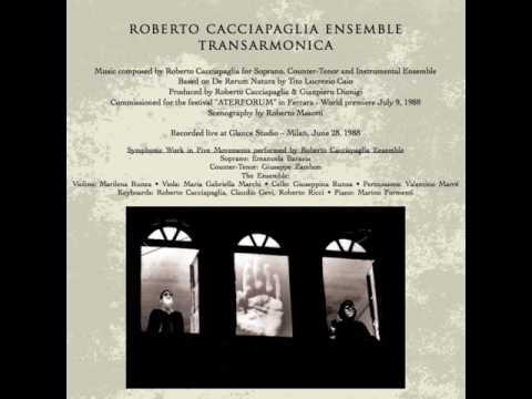 Roberto Cacciapaglia - Transarmonica [Full Album] 1988