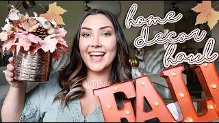 FALL HOME DECOR HAUL | HOBBY LOBBY & HOME GOODS