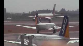 YS-11がいた頃の鹿児島空港