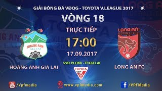 Hoang Anh Gia Lai vs Dong Tam Long An full match