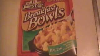 Jimmy Dean Bacon Breakfast Bowl Review
