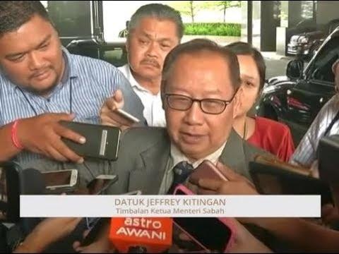 Situasi politik di Sabah: Reaksi Datuk Jeffrey Kitingan