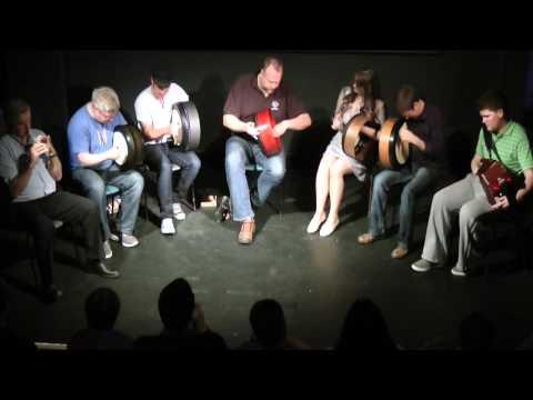 Craiceann 2012 Recital by Tutors - Tune 2 - Bodhran Festival  2012, Inisheer, Ireland