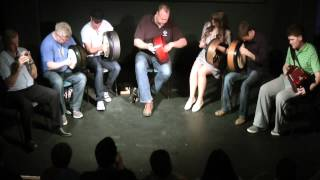 Craiceann 2012 Recital by Tutors - Tune 2 - Bodhran Festival  2012, Inisheer, Ireland