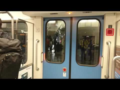 Seattle Light Rail - Capitol Hill to Downtown Subway Stations