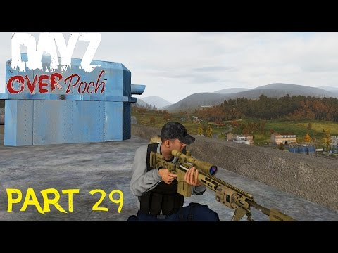 Arma 2: DayZ Overpoch - Series 3 - Part 29 - Off Shore Island Build,with Action