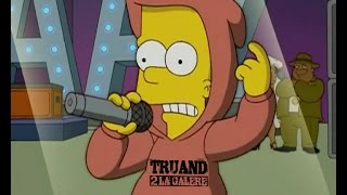 Bart Simpson - freestyle - juste avant la Vengeance
