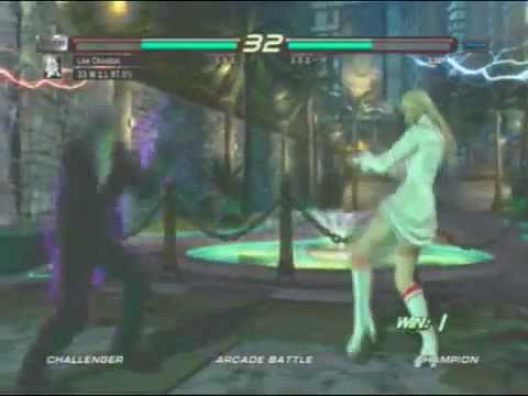 Silver Rage(Lee) VS Kirachi Faagucci(Lili)