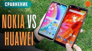 Сравнение Nokia 7 Plus и Huawei P20 Lite