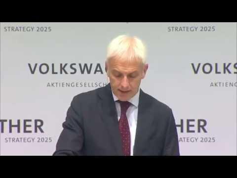Volkswagen Group Strategy 2025 - Speech Matthias Müller Part 3