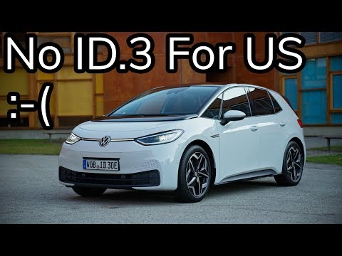 VW ID.3 Is Here! But There's a Catch...