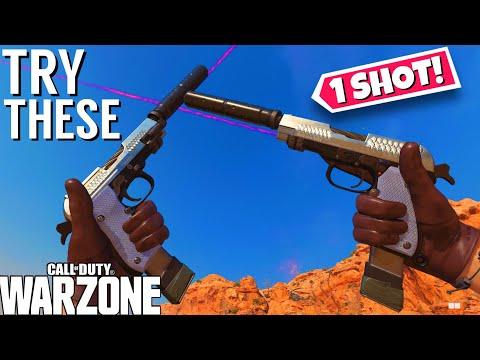 the *NEW* OVERPOWERED Pistols in Season 1! Diamatti Class Setup! (Cold War Warzone)