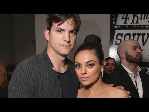 Mila Kunis Jokes She 'Wouldn't Put It Past' Ashton Kutcher To Be A Secret Spy (Exclusive)