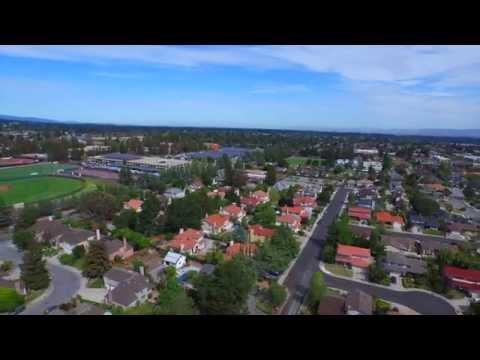 10337 Tula Lane Cupertino, CA.  by  Douglas Thron aerial drone real estate video FAA certified pilot
