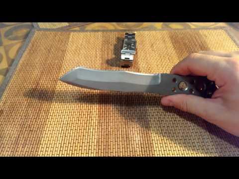 Нож Титан от мастера Игоря В. (titanium knife - титановый нож) Обзор