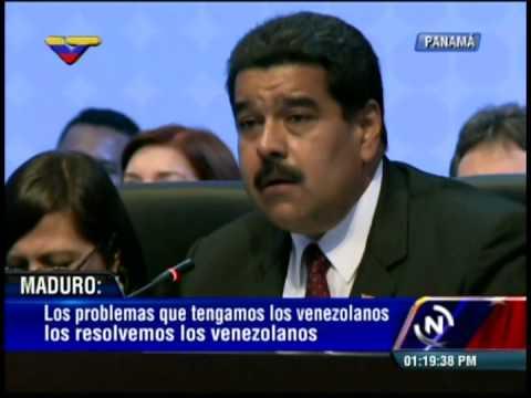 Cumbre de las Américas 2015: Nicolás Maduro, discurso completo en Plenaria