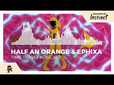 Half an Orange & Ephixa - Time Travel Kool Aid [Monstercat Official Music Video]
