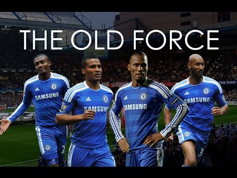 Chelsea FC - The Old Force . Drogba, Anelka, Kalou and Malouda - HD