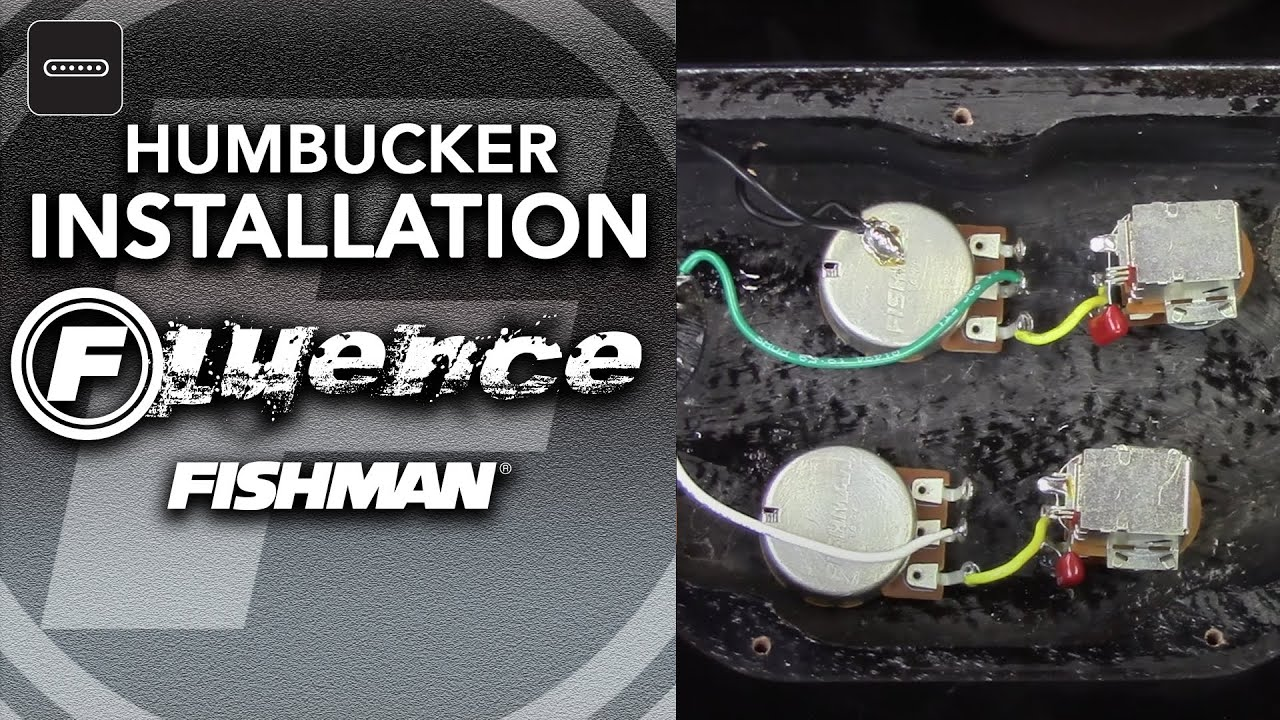 Fishman Fluence Humbucker Installation
