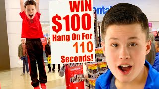 HANG for 110 Seconds WIN 100 DOLLARS!