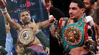 Manny Pacquaio Vs Danny Garcia Cold War Over?