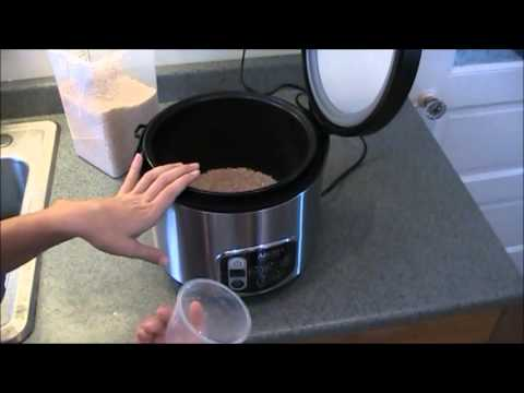 How To Use A Rice Cooker Steamer Youtube