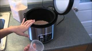 How To Use A Rice Cooker / Steamer