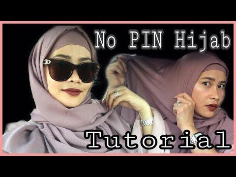 No PIN Easy HIJAB Style (On The Go Tutorial) by  MariaVilla MV thumbnail