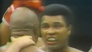 Muhammad Ali gets brain damage from Earnie Shavers (knocked out cold nearly) thumbnail
