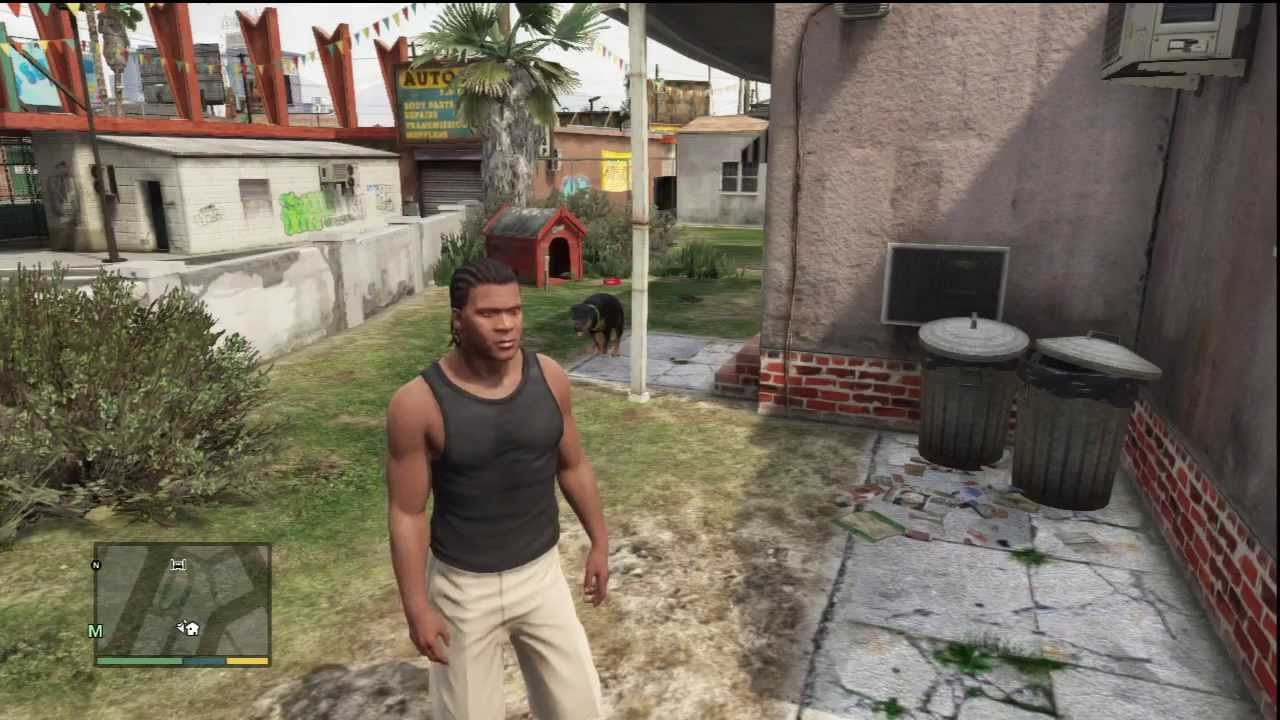 Pitbull Wallpapers 3d Gta V Gameplay Franklin S Dog Quot Chop Quot Youtube