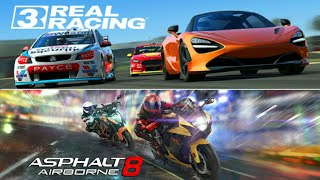 Asphalt 8 VS Real Racing 3 - full comparison - graphics , gameplay etc..