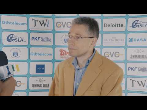 Round 10 Gibraltar Chess post-game interview with Mickey Adams