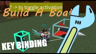 *TUTORIAL* HOW TO USE THE BINDING TOOL | Build a Boat For Treasure ROBLOX