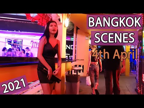 Bangkok Streets Scenes - Vlog 65 | 4 April 2021