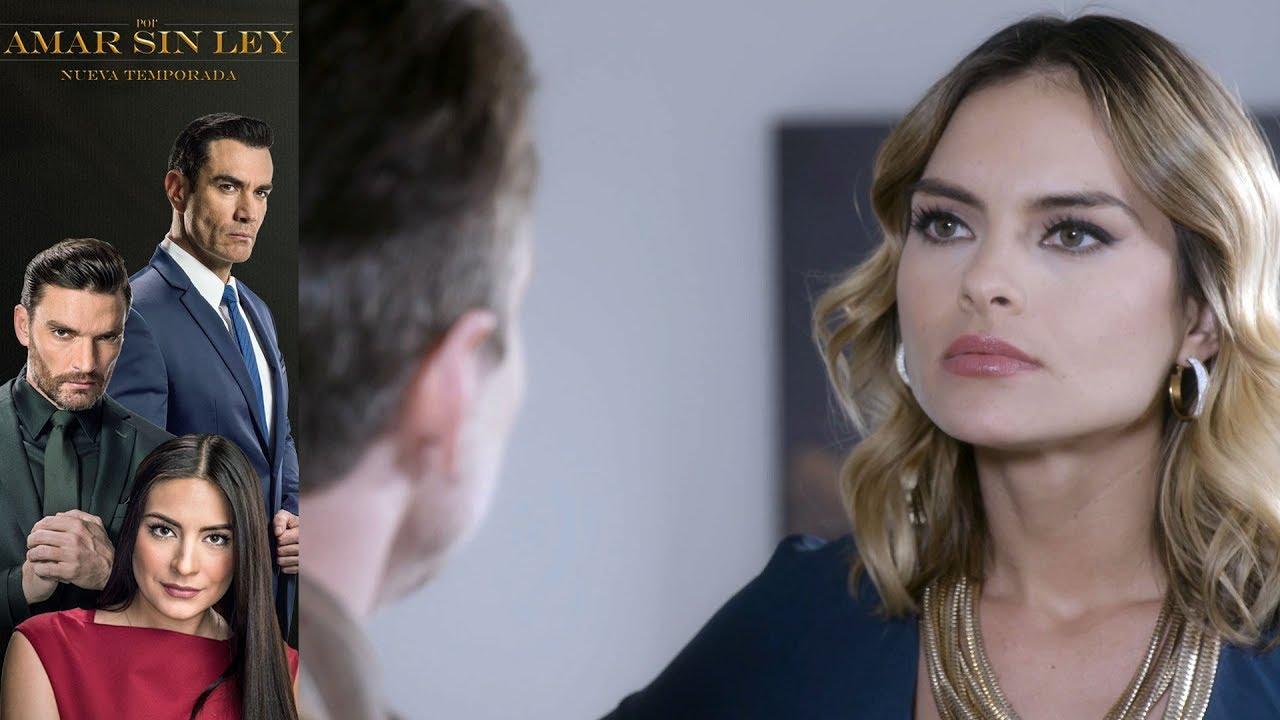 Por Amar Sin Ley 2 Capítulo 81 Michelle Y El Gringo Pelean Por Carlos Televisa Youtube