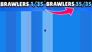 😲!😲!😲! GOT 34 BRAWLERS! NEW RECORD ON CHANNEL!