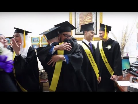 Valedictorian talks graduation and the school experience at Miraj Islamic School