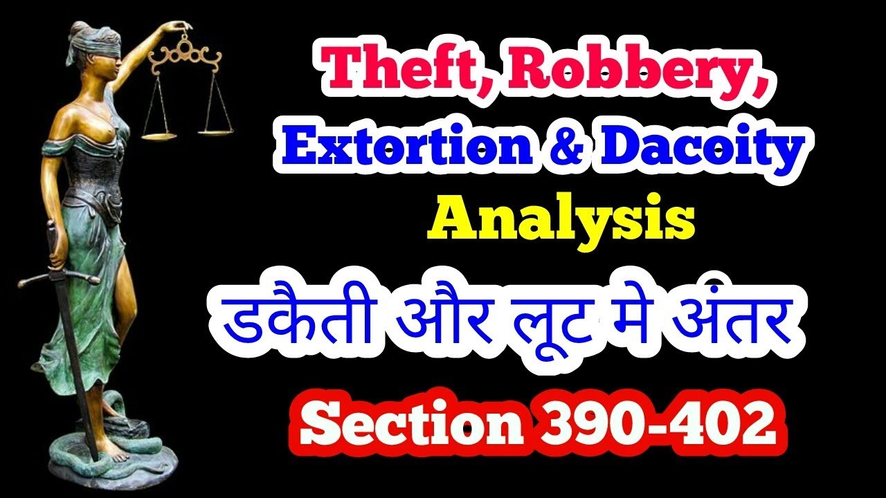 ipc section for robbery