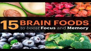TOP 15 BRAIN FOODS