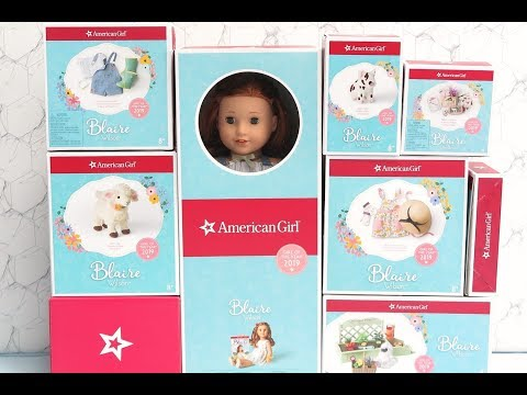 American Girl Blaire Wilson Collection GOTY Unboxing & Review