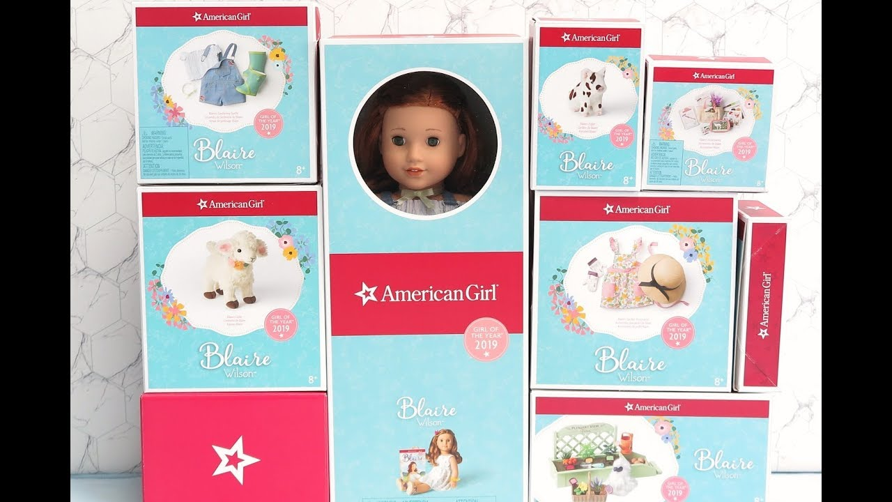 New In Box American Girl Doll Blaire's Accessories
