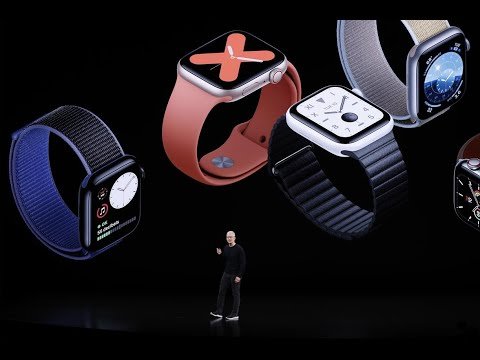 Apple launches new Watch Series 5, 7th generation iPad