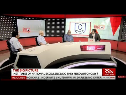 The Big Picture: Institutes of National Excellence: Do they need autonomy?