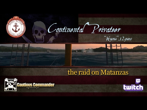 Continental Privateer - the raid on Matanzas